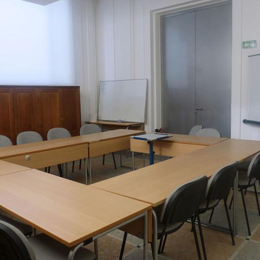 Salle d'enseignement © Charlotte DUVAL