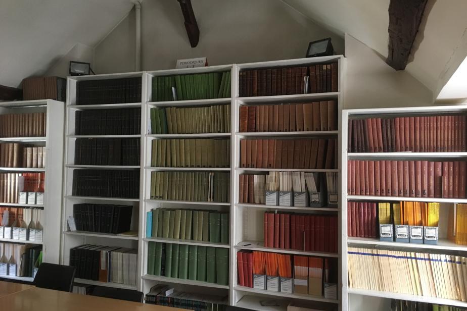 Bibliothèque © MNHN