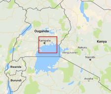 Ouganda © Google maps