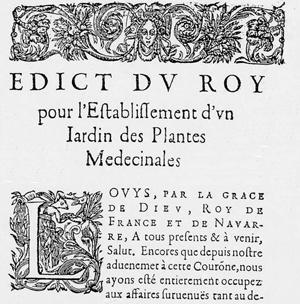 Edit du roy